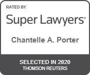 Chantelle Porter 2020 Super Lawyer